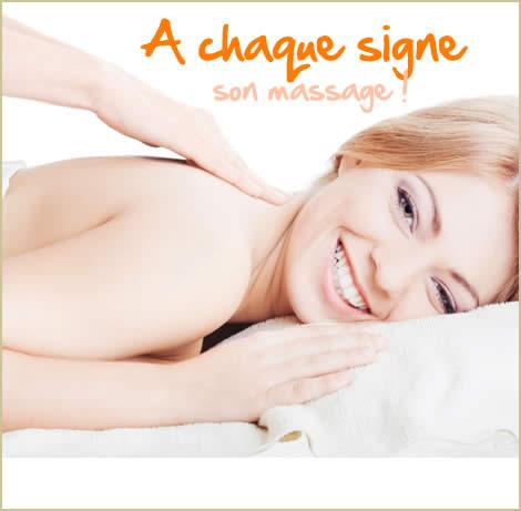 A chaque signe son massage !