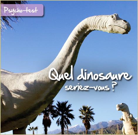 Quel dinosaure seriez-vous ?